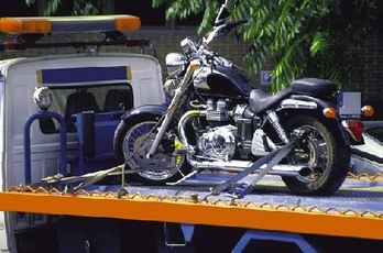 motorcycle towing gilbert